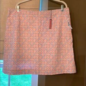 Vineyard Vines Margo Skirt in Ring Toss sz 16
